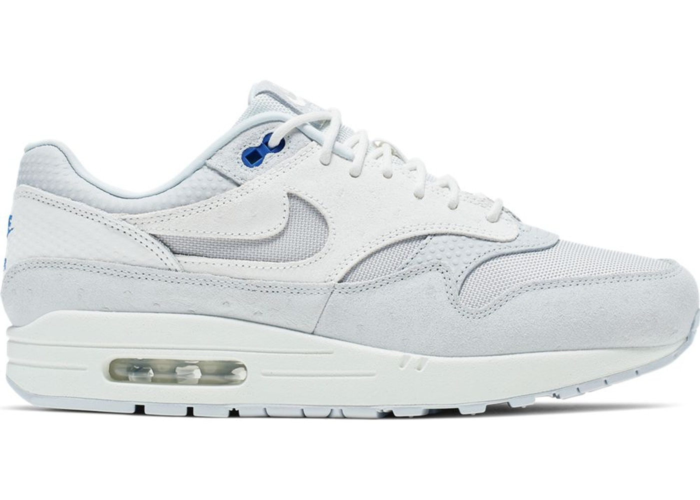 Nike Air Max 1 Pure Platinum Racer Blue