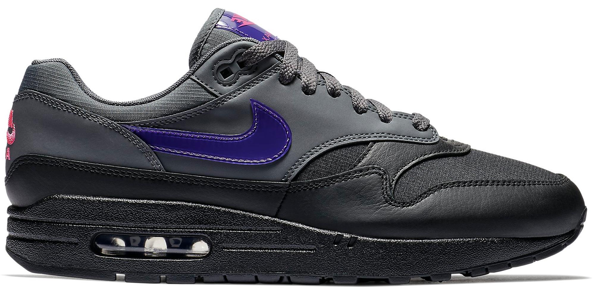 nike air max grey purple