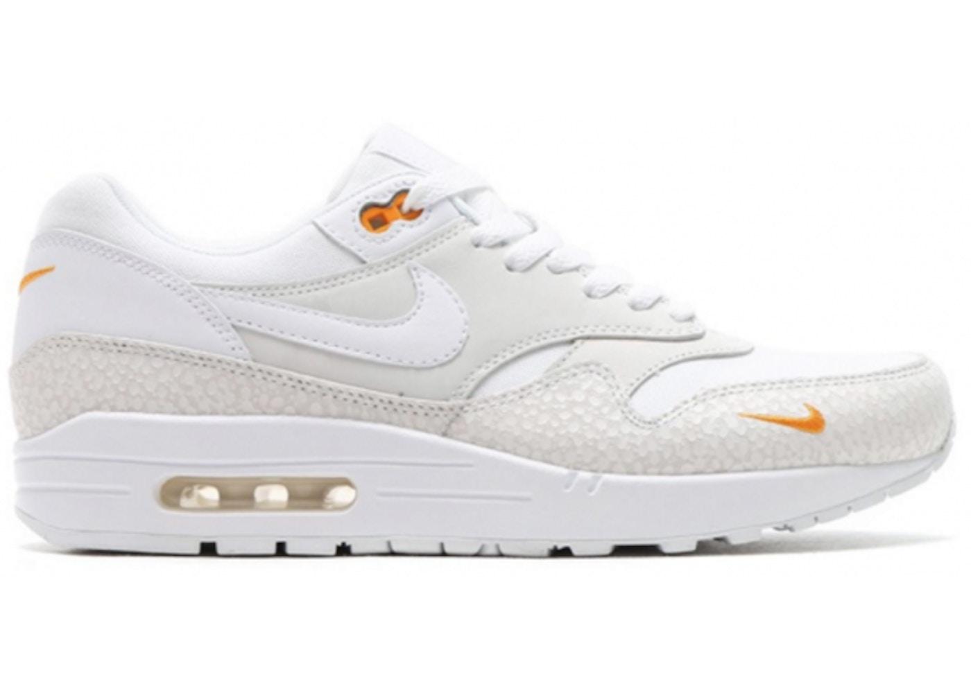9454f76104be52 Air Max 1 White Kumquat - 512033-110