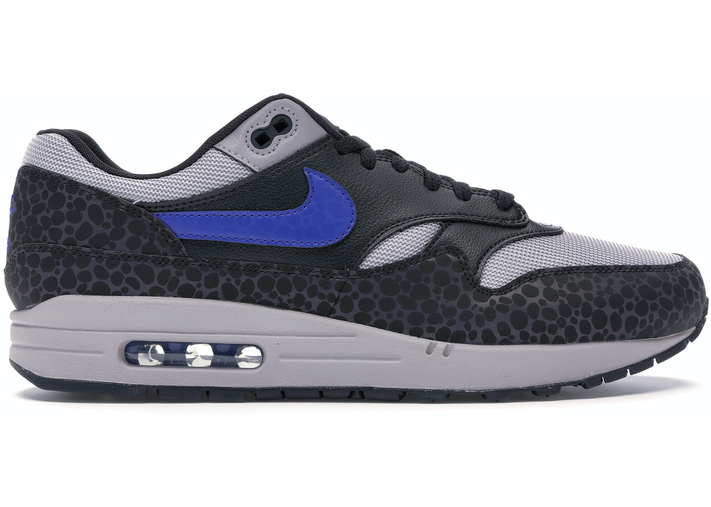 competitive price 0ed5c 0a80c Air Max 1 Safari Reflective Black