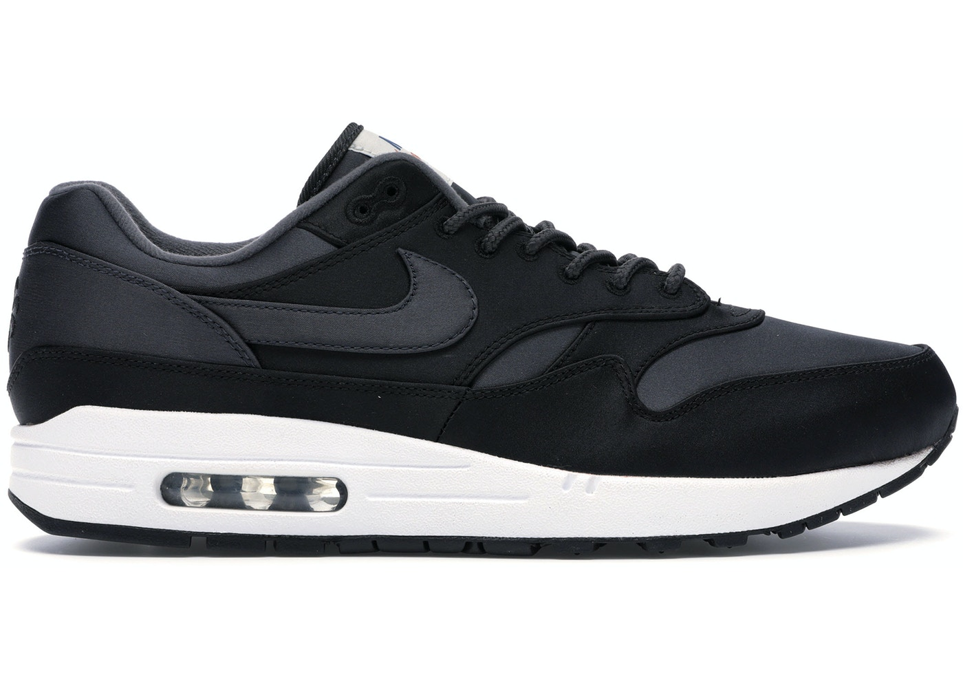 competitive price 0f4e2 056e6 Sell. or Ask. Size  12. View All Bids. Air Max 1 Satin Pack Black