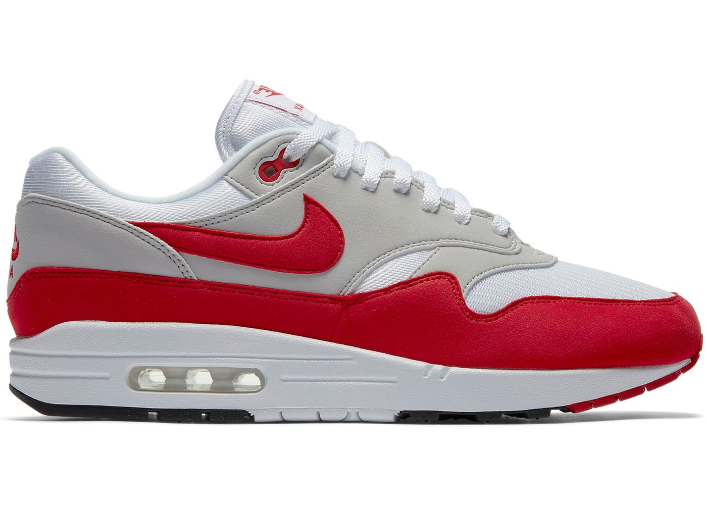 uk availability f6001 58a7b Air Max 1 Anniversary Red (2017) - 908375-100