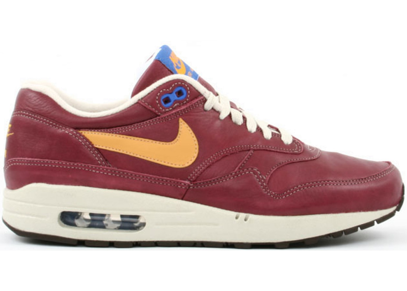 timeless design 45764 a8b4e Air Max 1 Team Red Gold Leaf - 312748-671