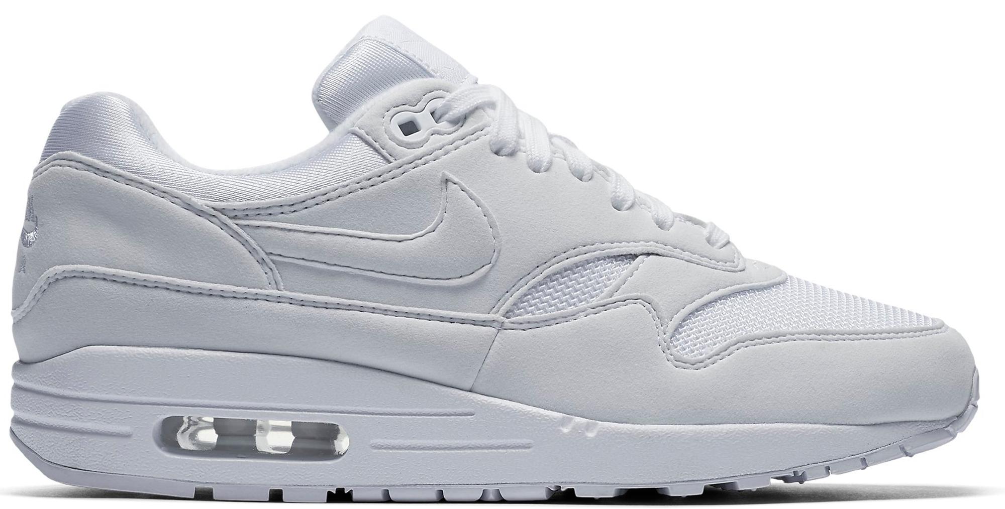 Nike Air Max 1 Triple White (W