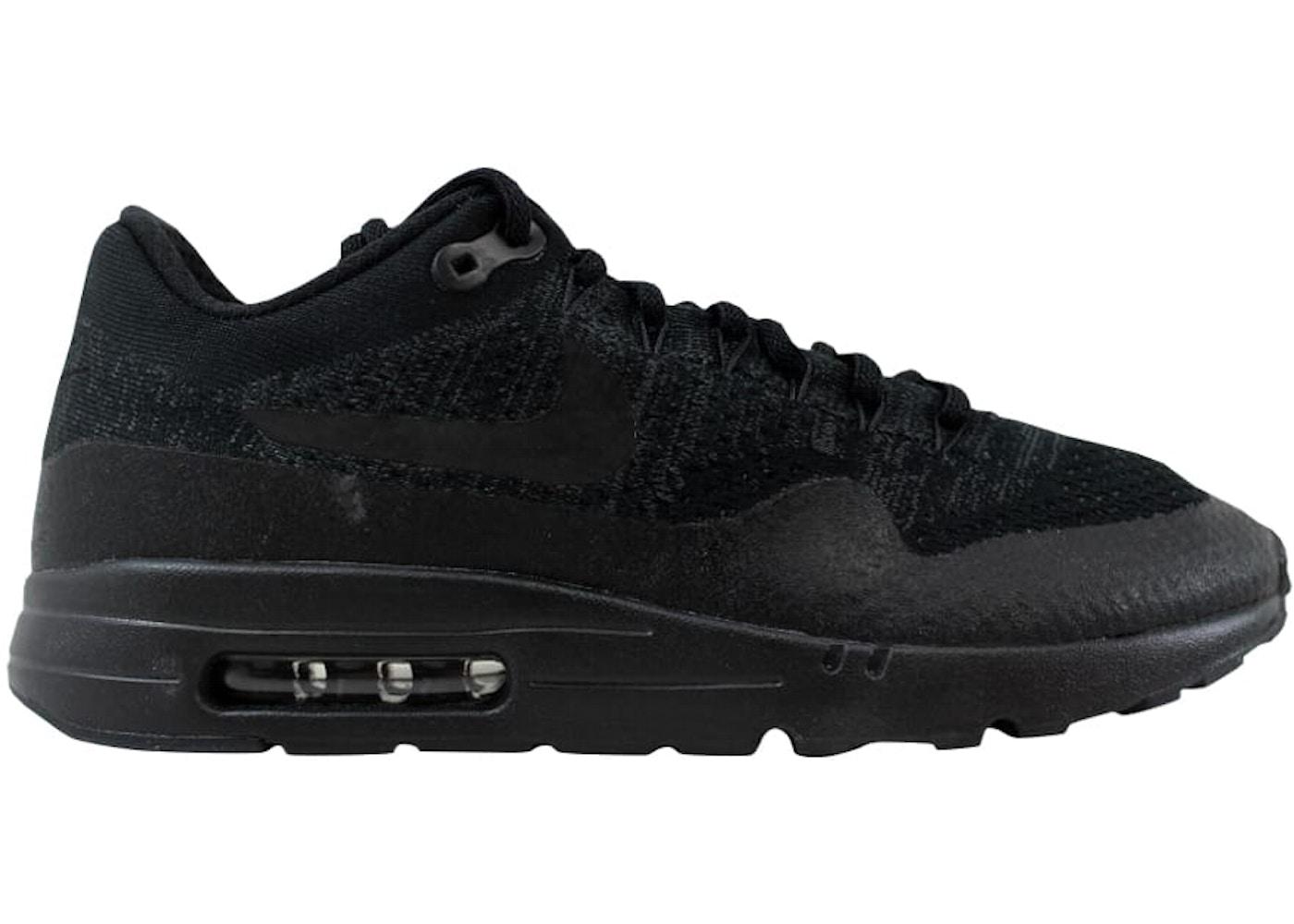 new product b73fb 53651 Nike Air Max 1 Ultra Flyknit Black/Black