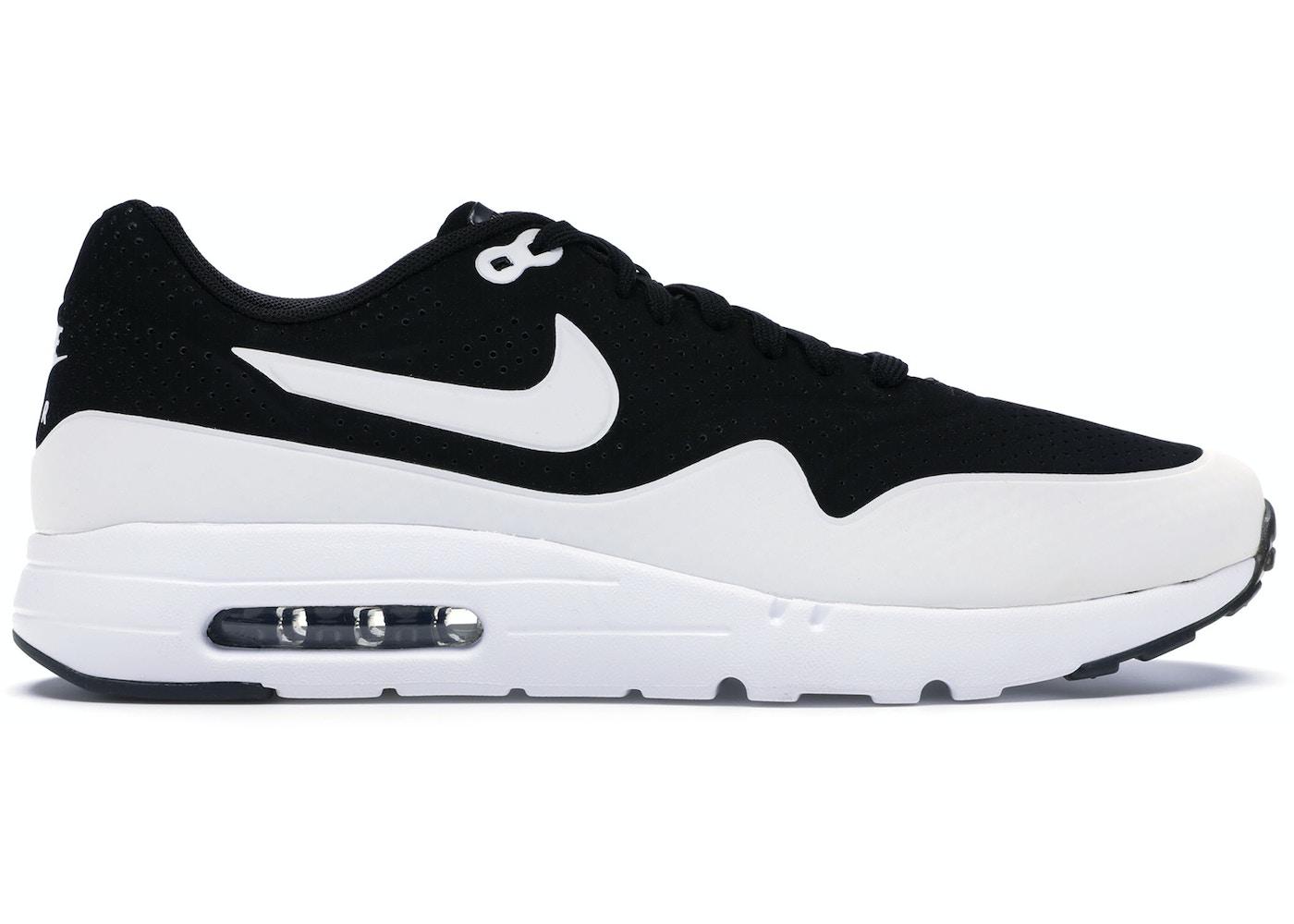 objetivo excusa Peregrino  Nike Air Max 1 Ultra Moire Black White - 705297-001