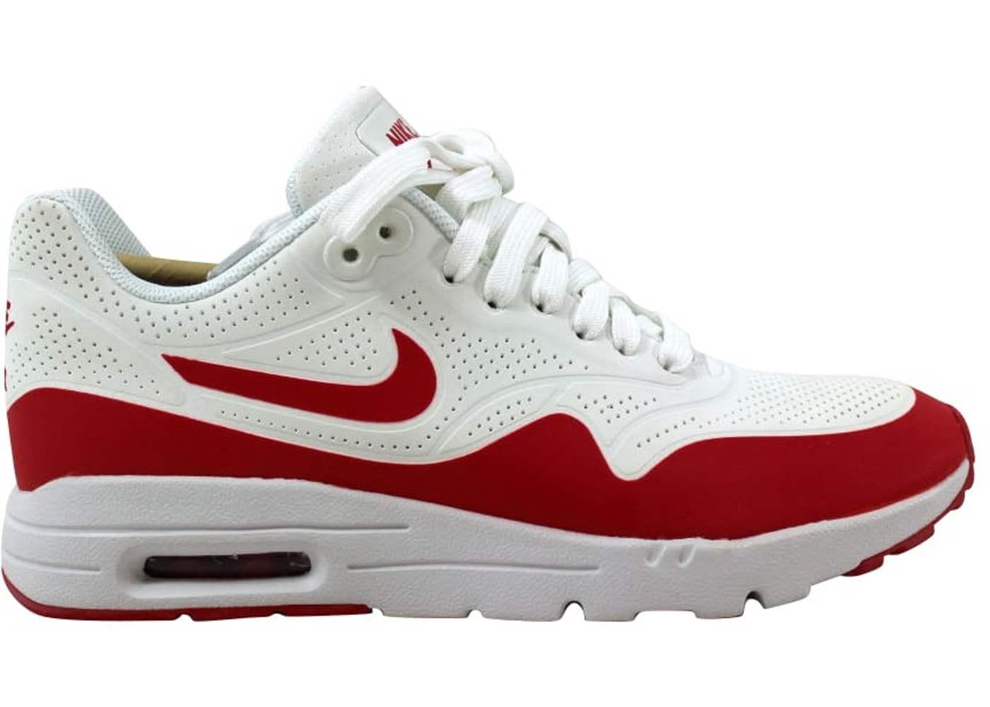 info pour 10078 5a793 Nike Air Max 1 Ultra Moire Summit White/University Red-White (W)