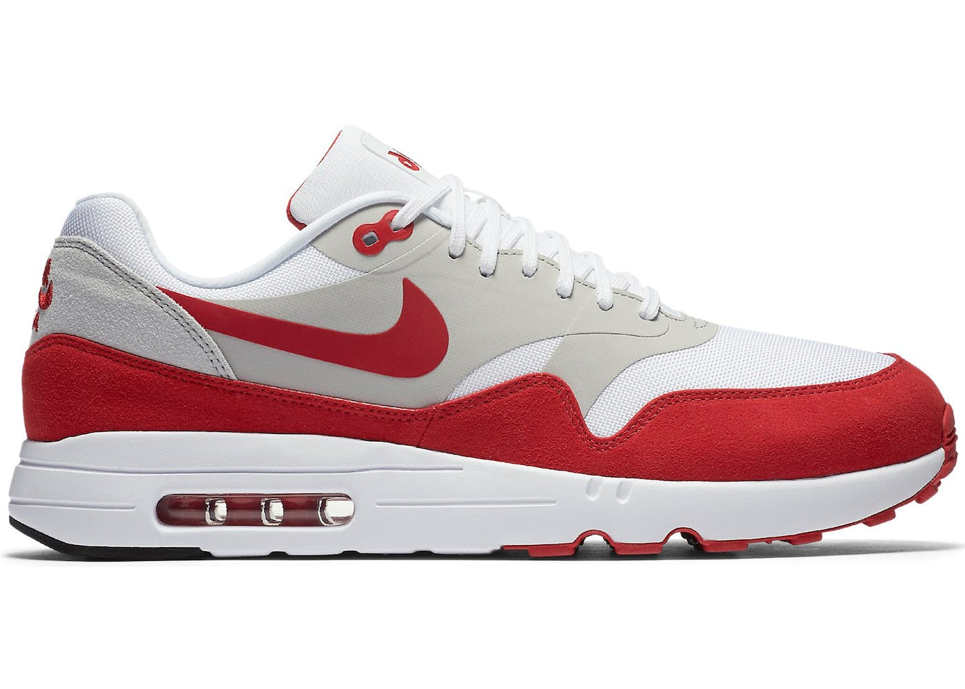nike air max 1 red and white