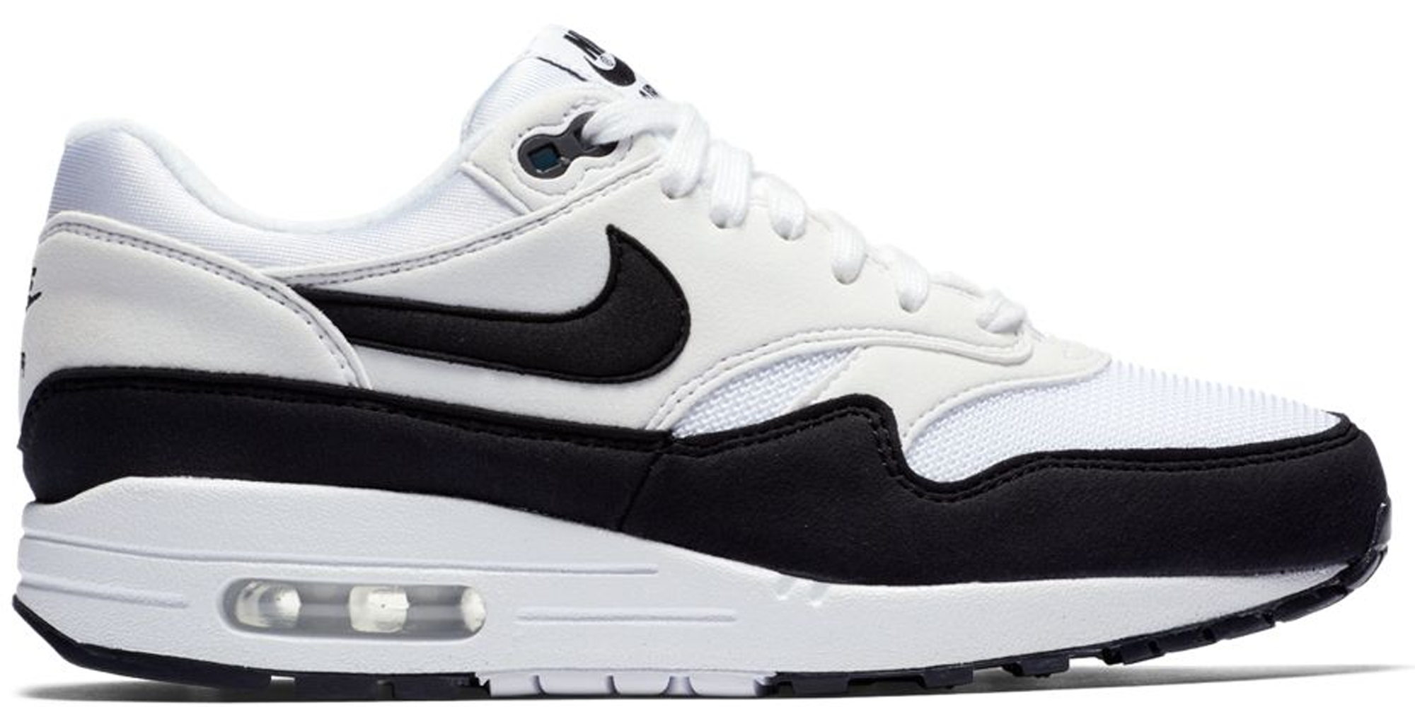 Nike Air Max 1 White Black (W) - 319986-109