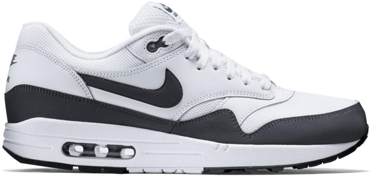 Nike Air Max 1 White Dark Grey - 537383-126