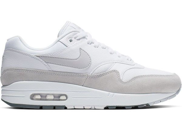 huge selection of 49b81 54884 Air Max 1 White Pure Platinum