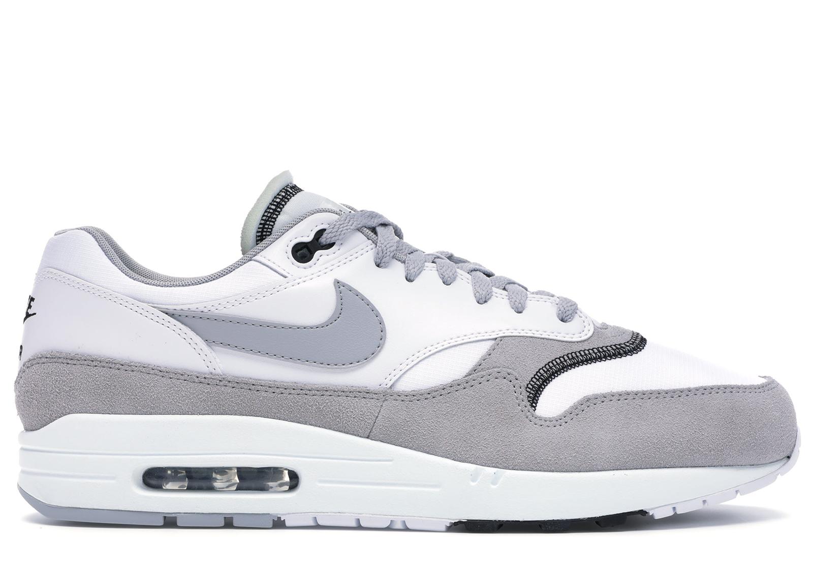 Nike Air Max 1 Wolf Grey White