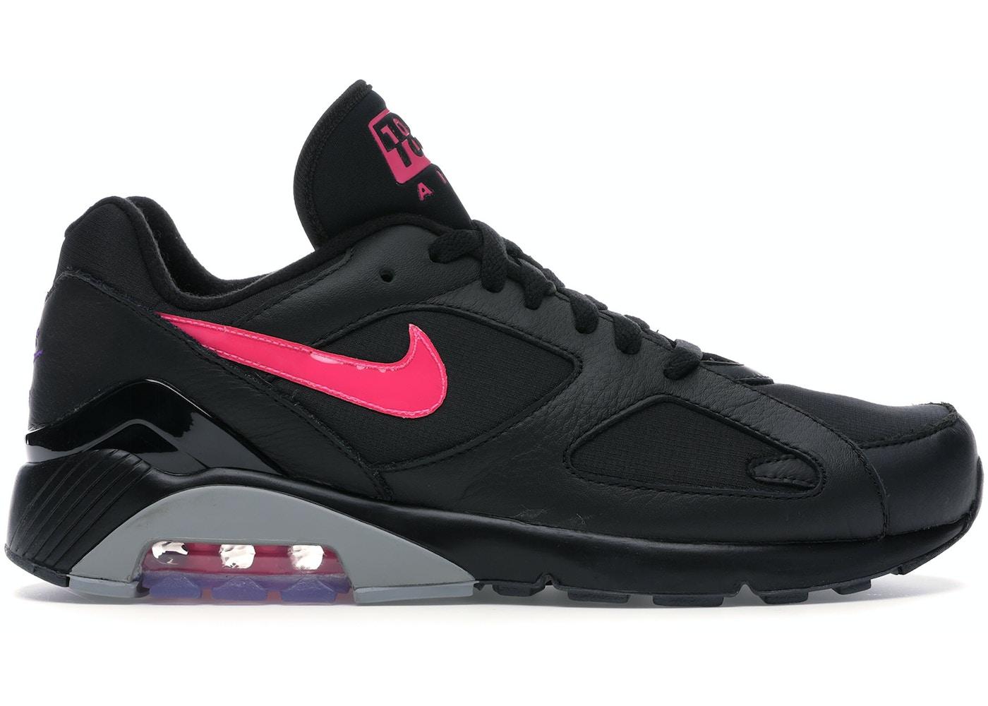 9850a9c1 Air Max 180 Black Pink Blast - AQ9974-001