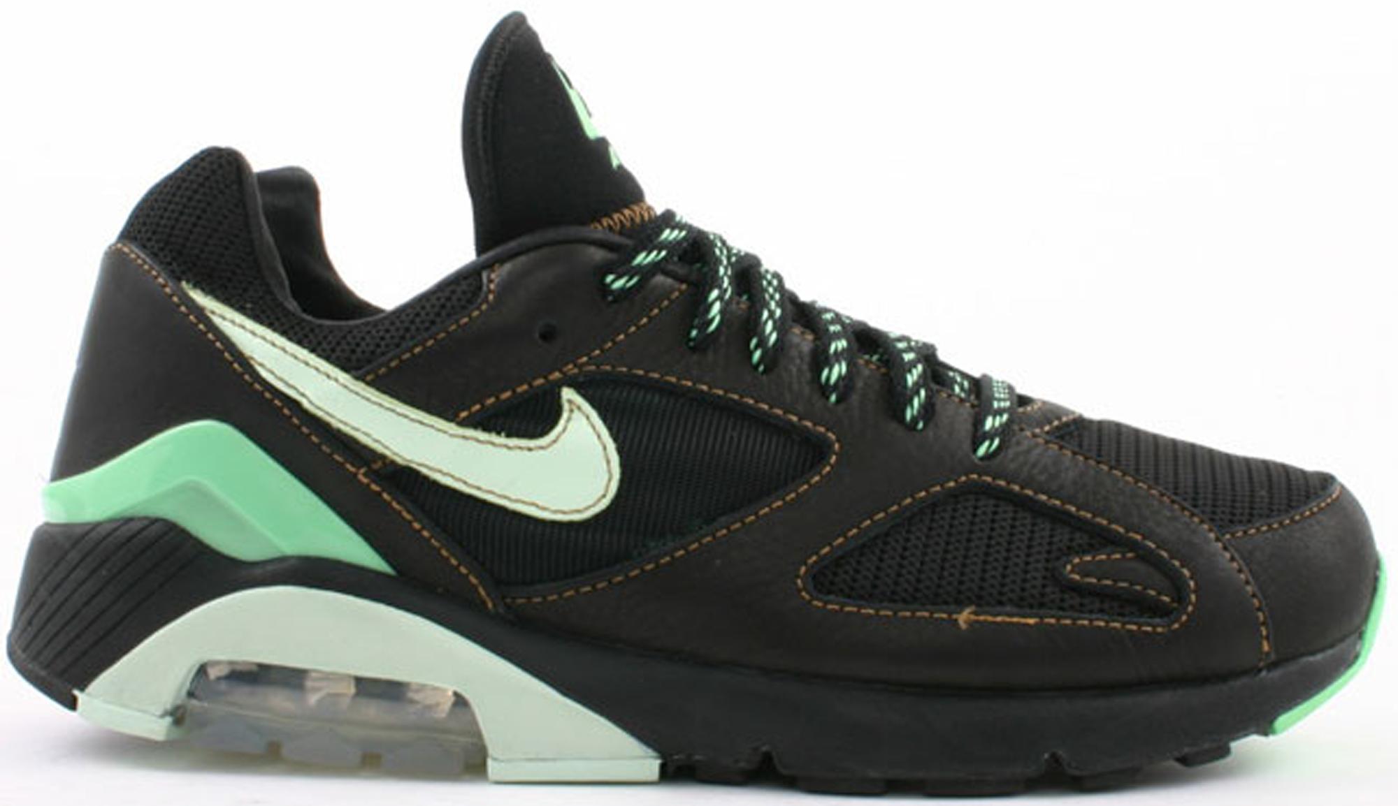 Nike Air Max 180 Black Poison Green