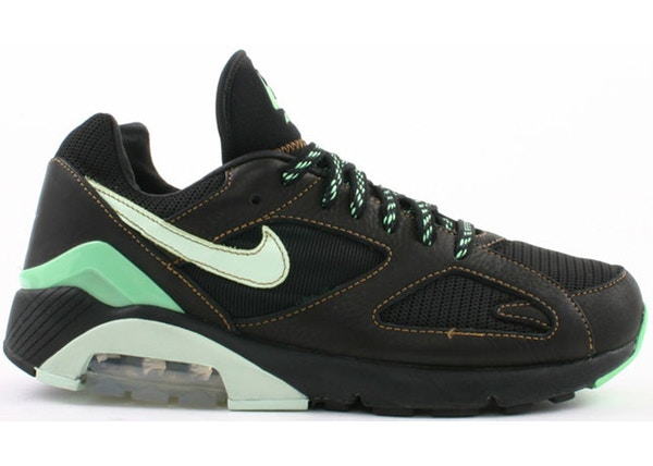 66c5cf28a Air Max 180 Black Poison Green - 310155-031