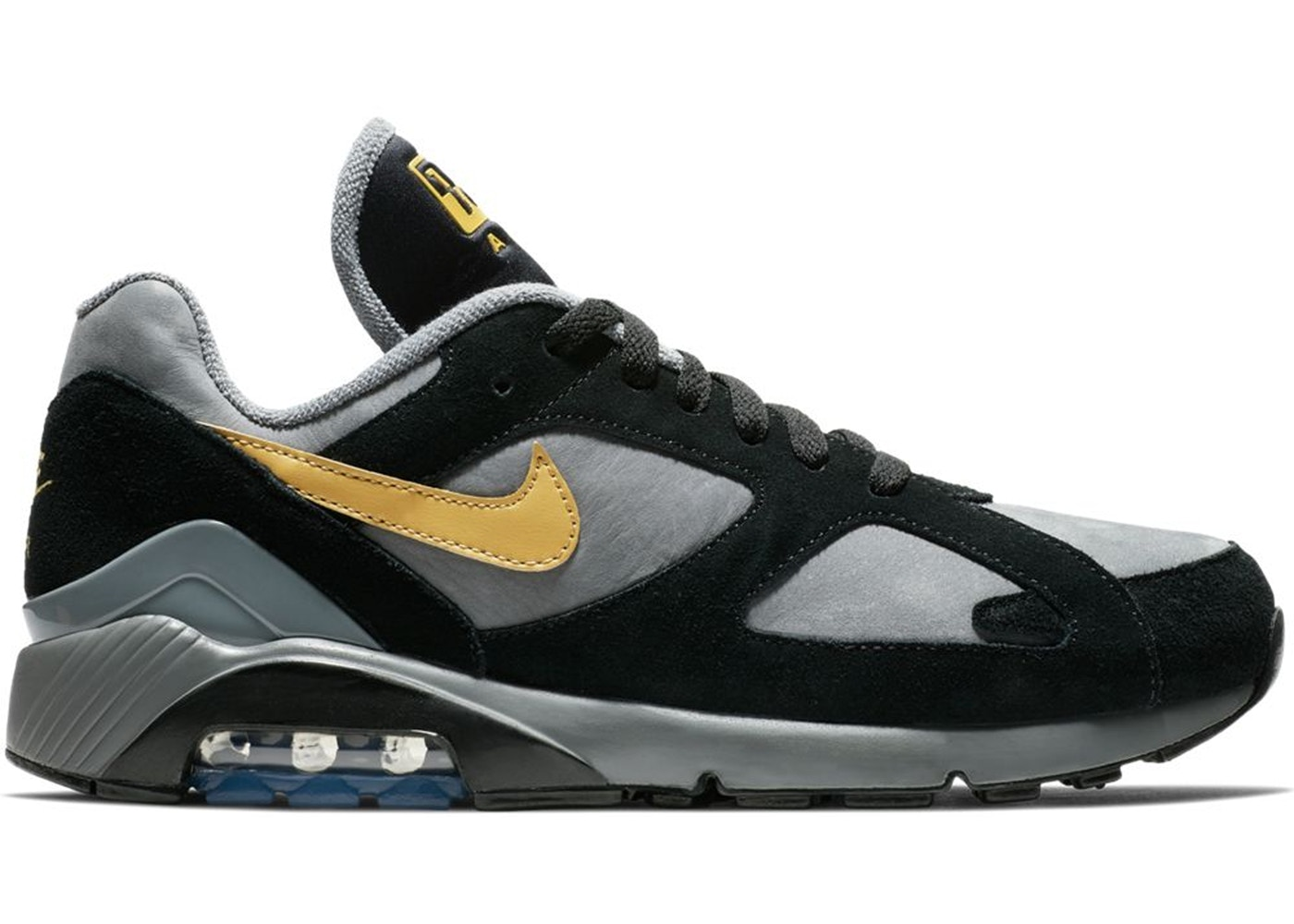 288ada3400 Sell. or Ask. Size: 10. View All Bids. Air Max 180 Cool Grey Black Wheat  Gold