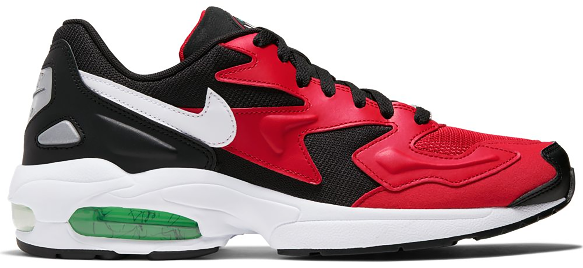 Nike Air Max 2 Light Black Red Electro