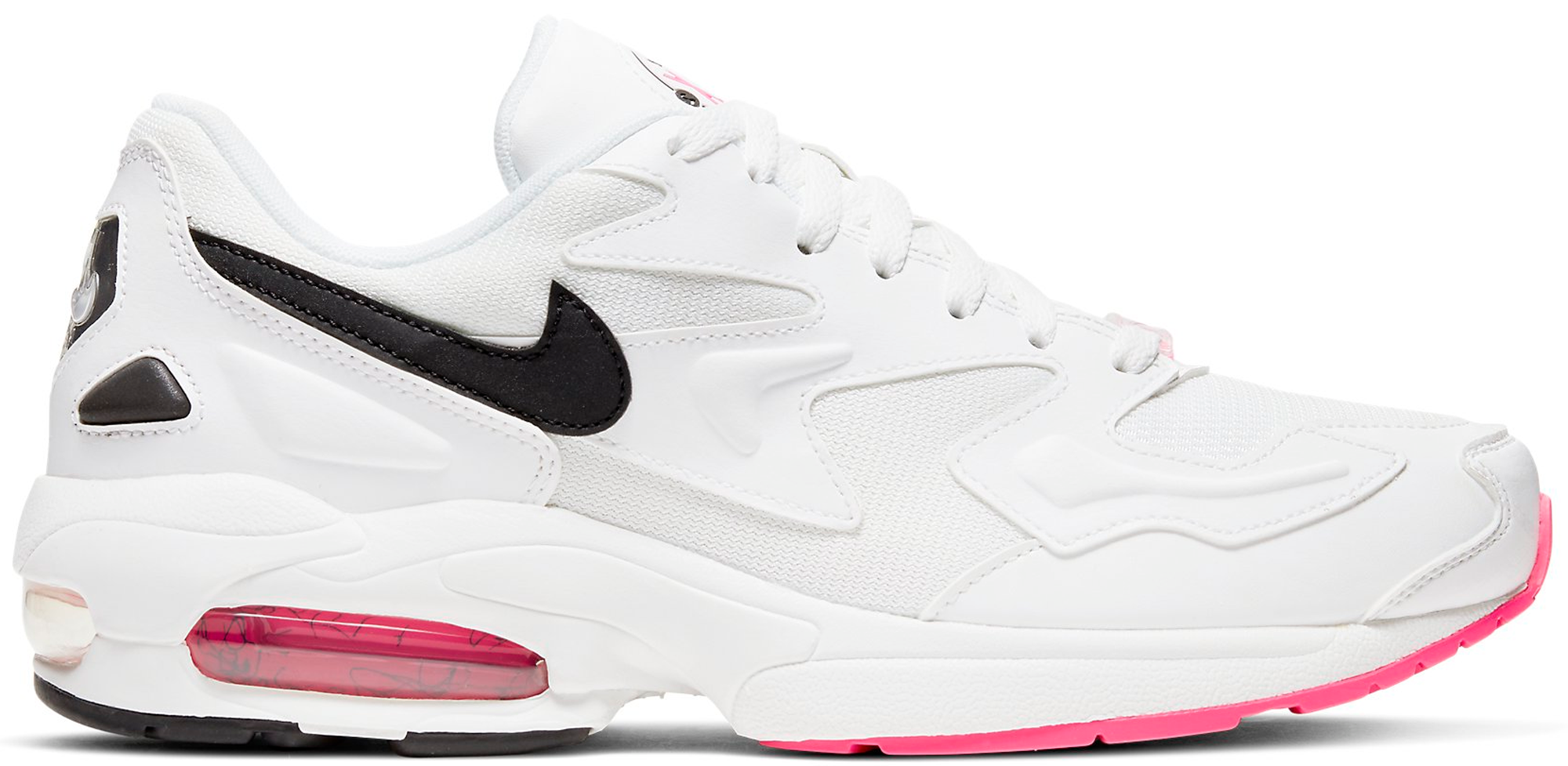 black pink and white air max