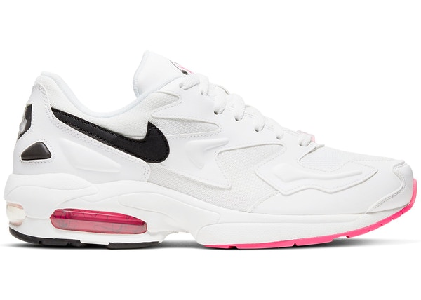 new concept 4c6bd 5d3ee Air Max 2 Light White Black Pink