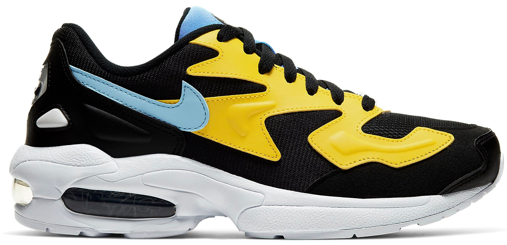 Nike Air Max 2 Light Yellow Light Blue