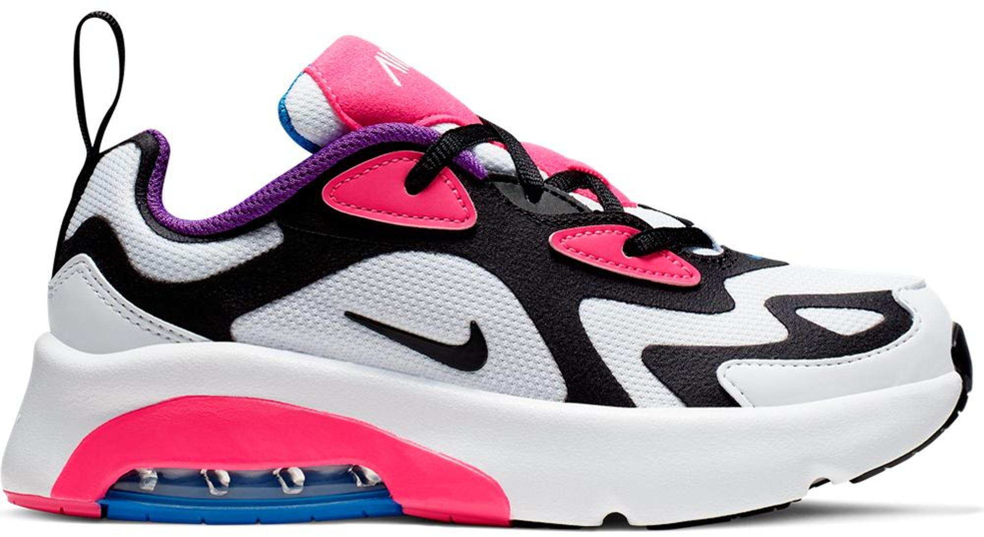 Nike Air Max 200 White Hyper Pink Black