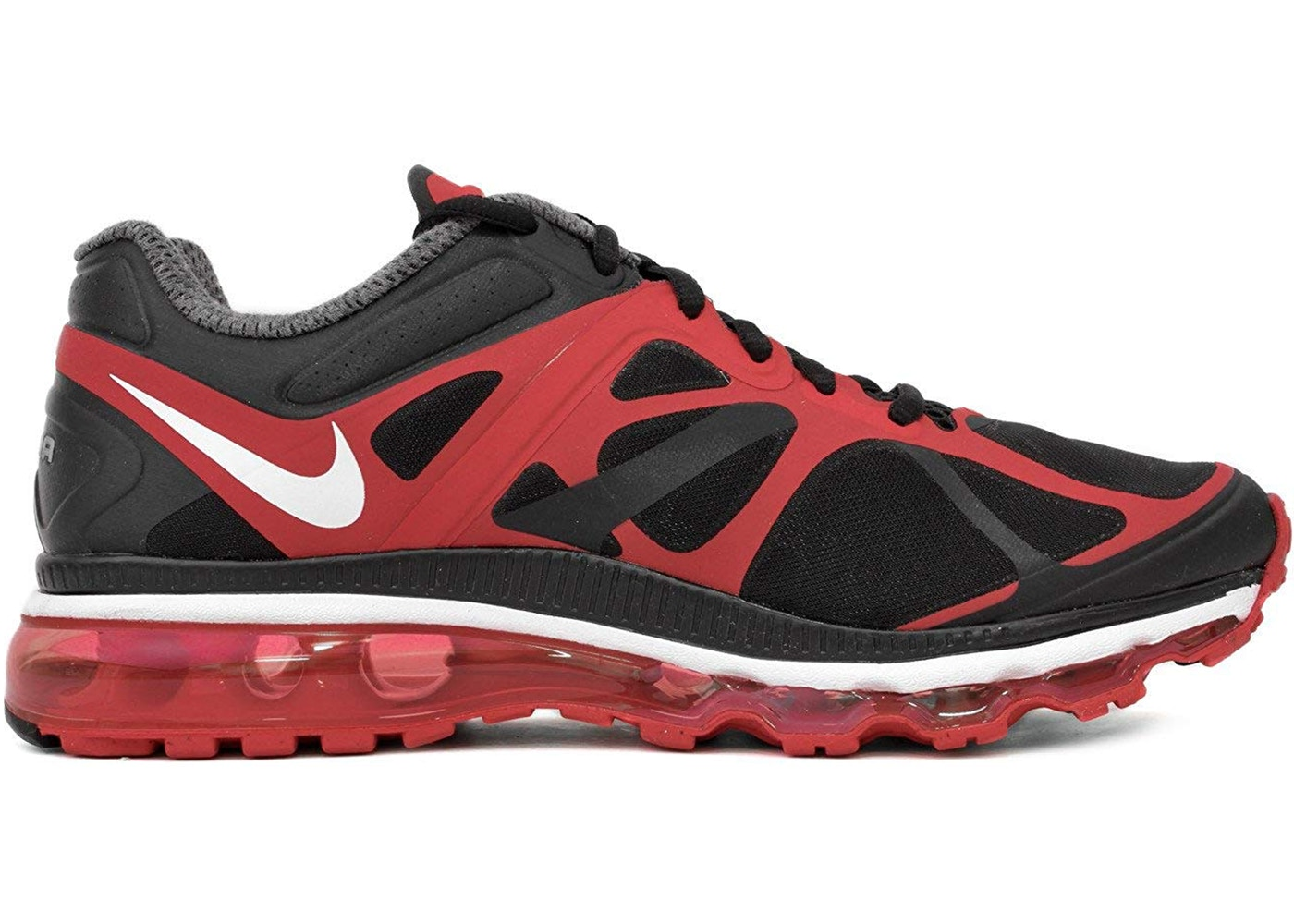 Nike Air Max 2012 Black Red 487982 016