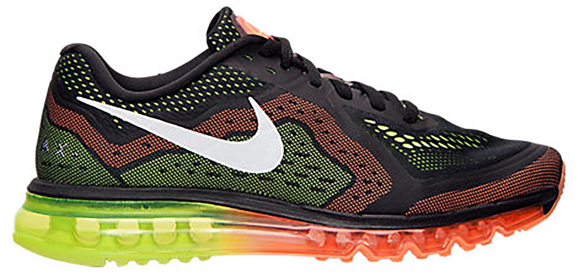 Nike Air Max 2014 Black Orange Volt