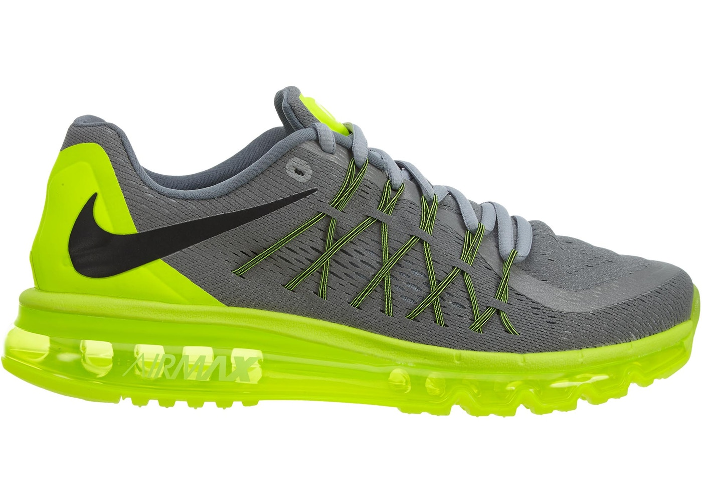 size 40 229df 75137 Sell. or Ask. Size  10.5. View All Bids. Nike Air Max 2015 Anniversary Pack  Silver Volt