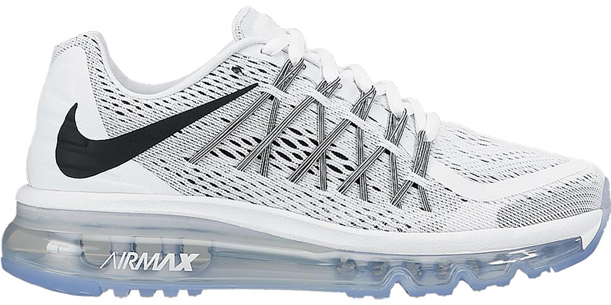 Nike Air Max 2015 White Black (GS