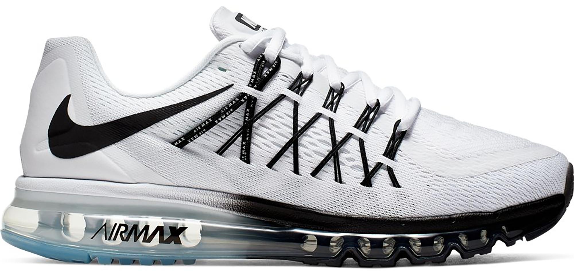 Nike Air Max 2015 White Black - CD7625-100