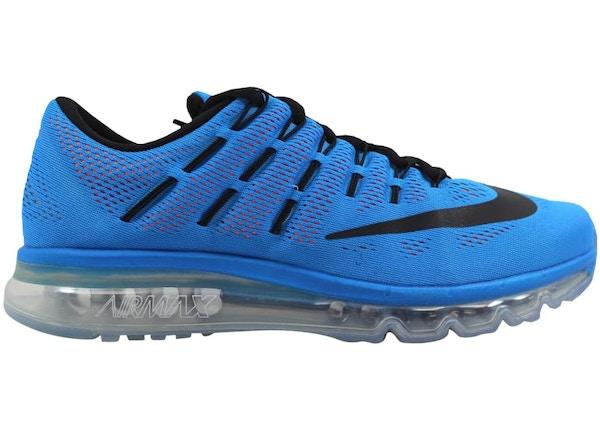 e327bb8cbc1a Nike Air Max 2016 Photo Blue Black-Total Orange - 806771-408