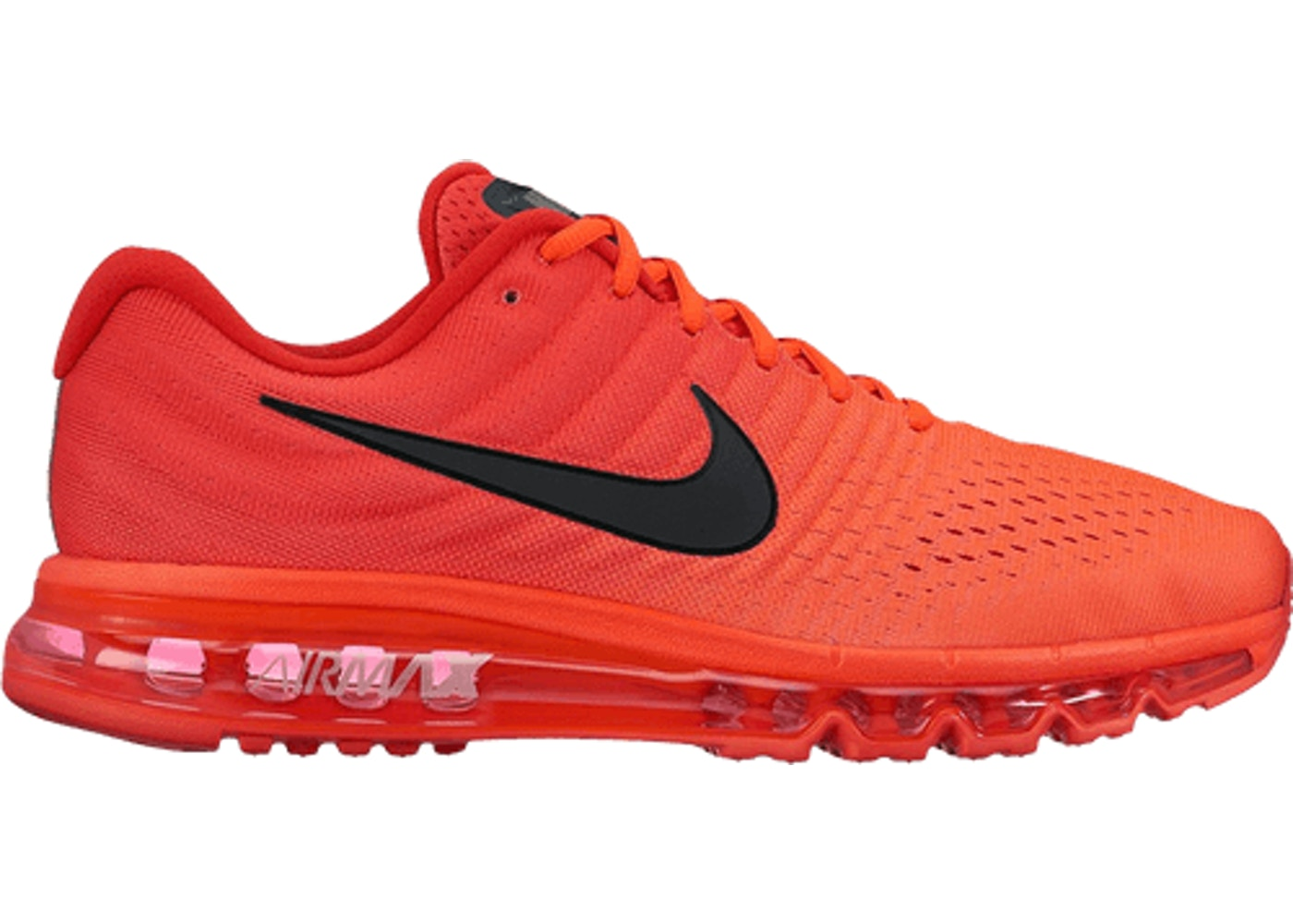 newest 1114b bb5a3 Air Max 2017 Bright Crimson
