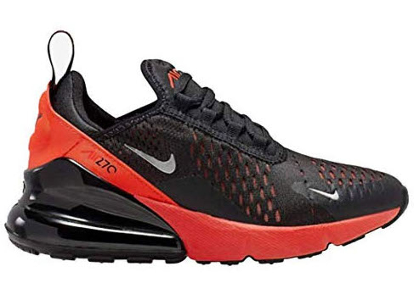 Settlers Svuota il cestino Berri  Nike Air Max 270 Black Bright Crimson (GS) - 943345-018