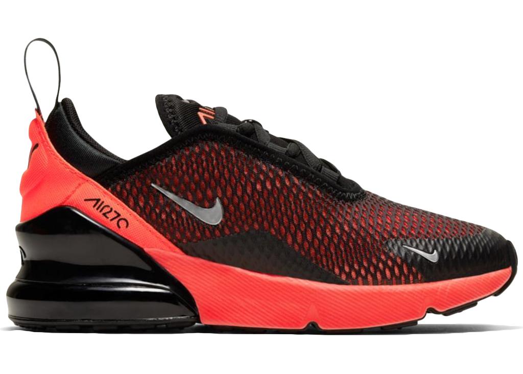 Nike Air Max 270 Black Bright Crimson