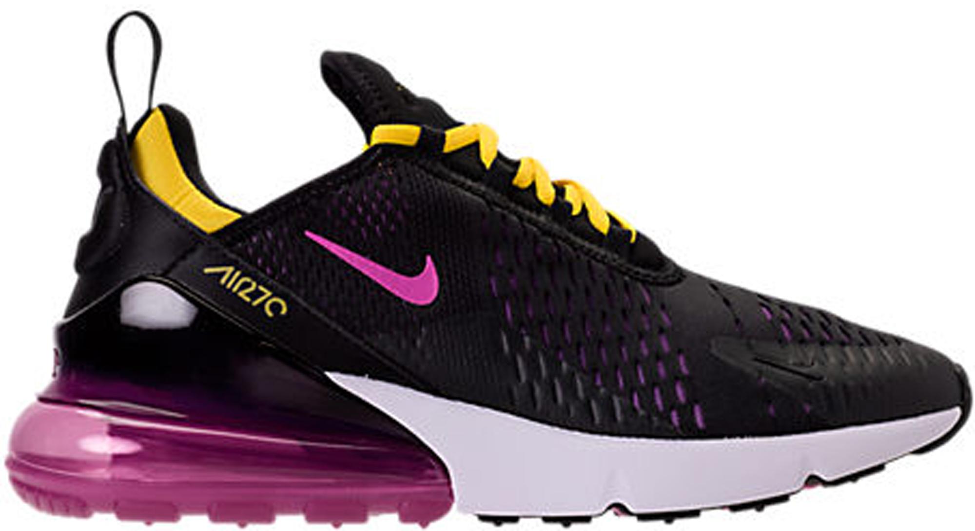 Nike Air Max 270 Black Hyper Magenta