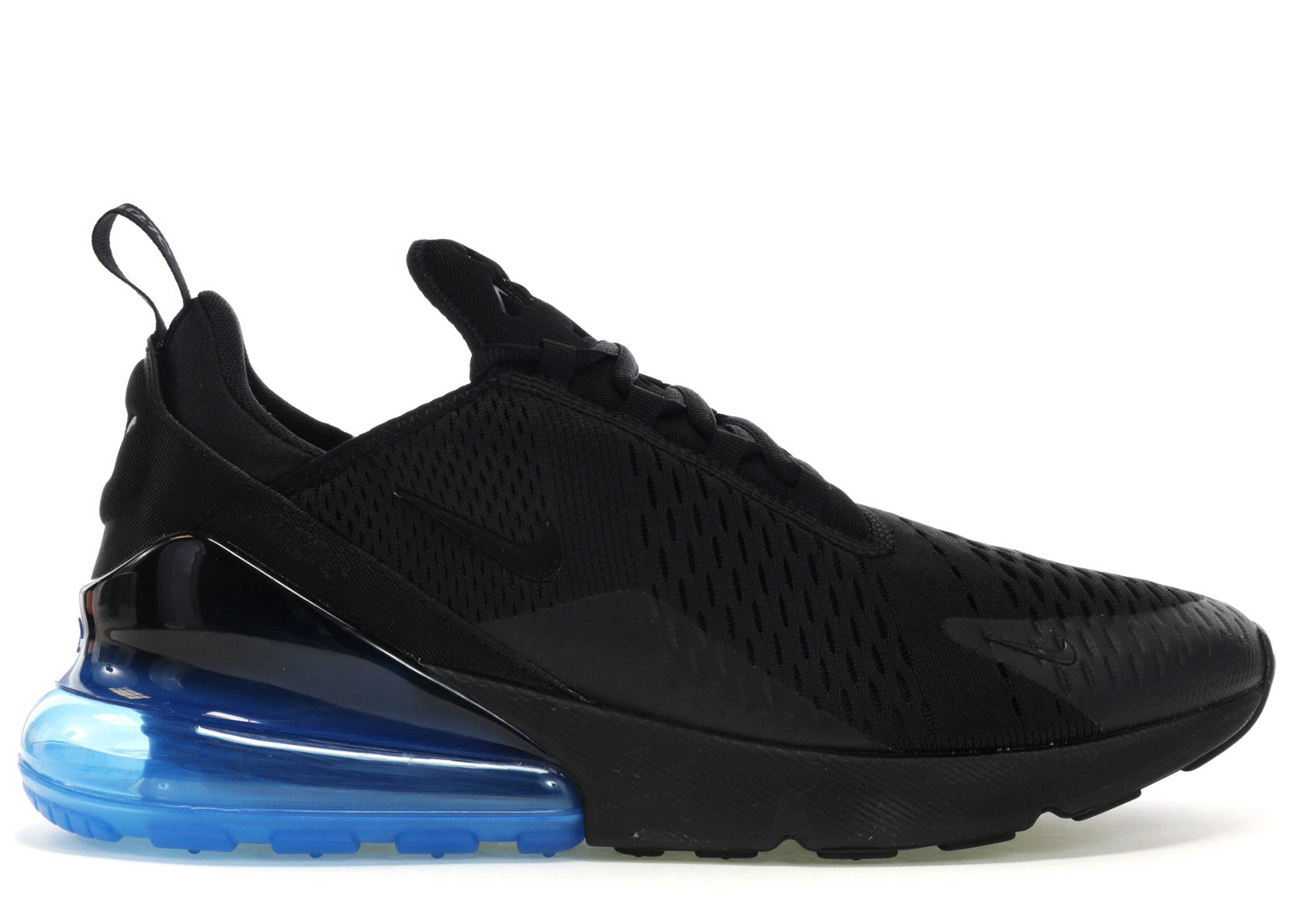 nike air max blue and black