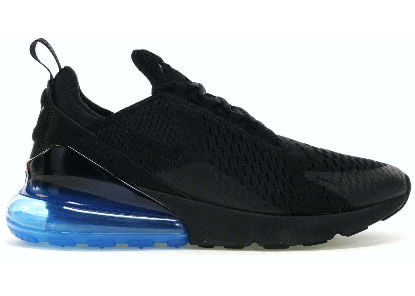 uk availability 17c29 4436b Air Max 270 Black Photo Blue