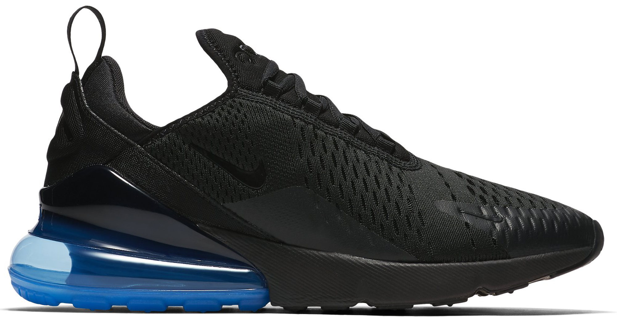 quality design 99756 f4bf1 Black and Blue Air Max
