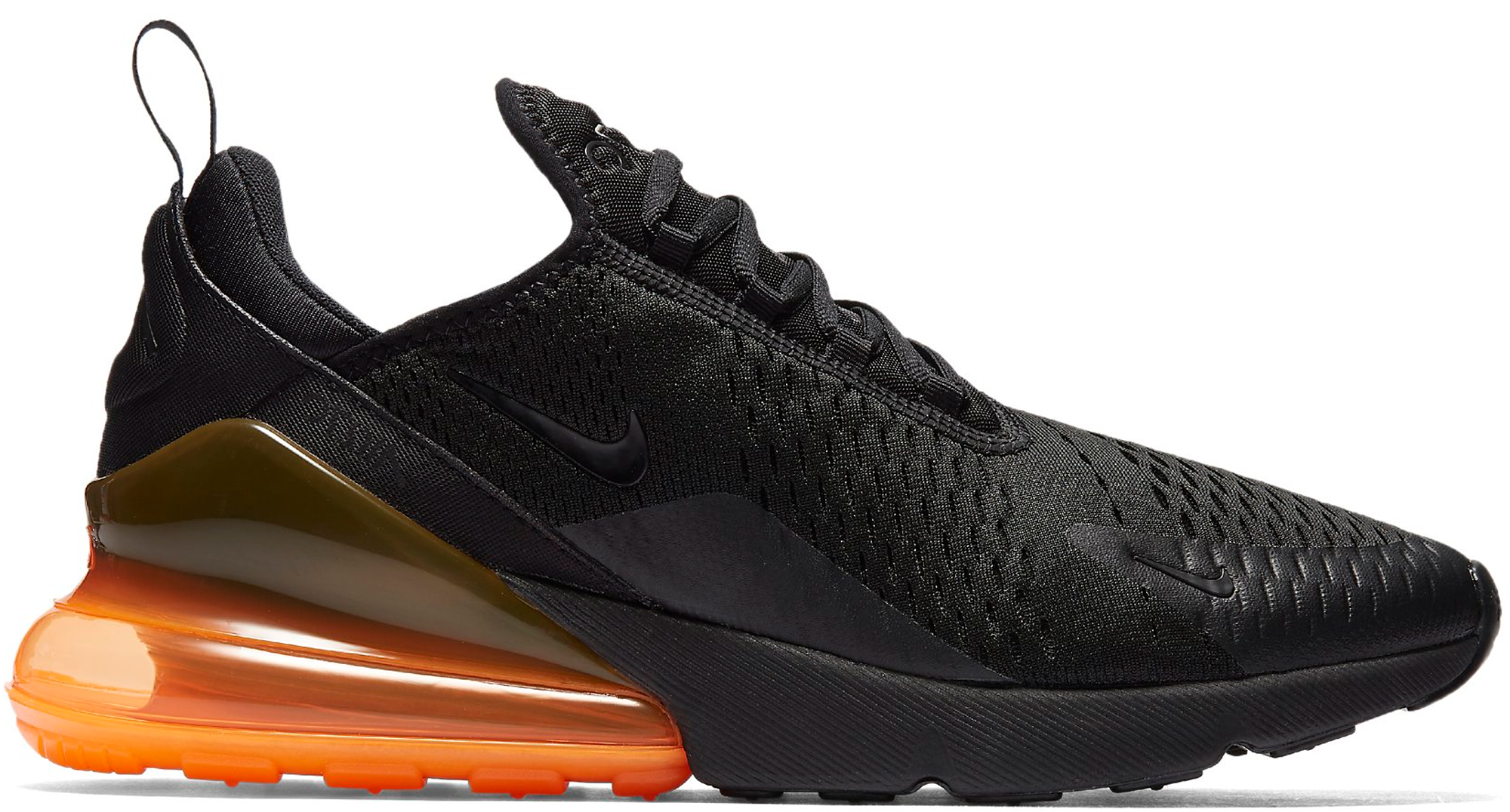 Air Max 270 Black Total Orange