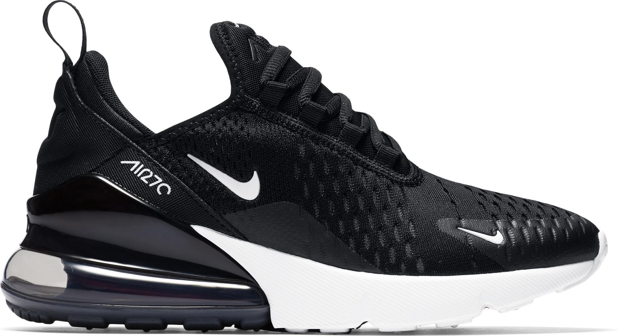 Nike Air Max 270 Black White (GS