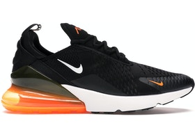 buy popular bf610 0a4f1 Air Max 270 Black White Total Orange