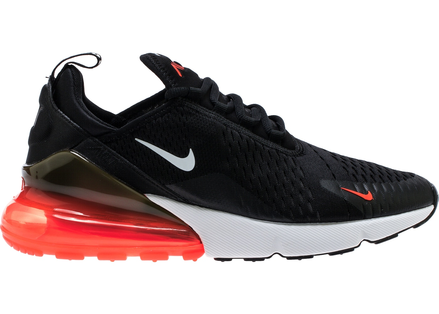 buy popular 69fb3 bc99c Air Max 270 Black White Total Orange