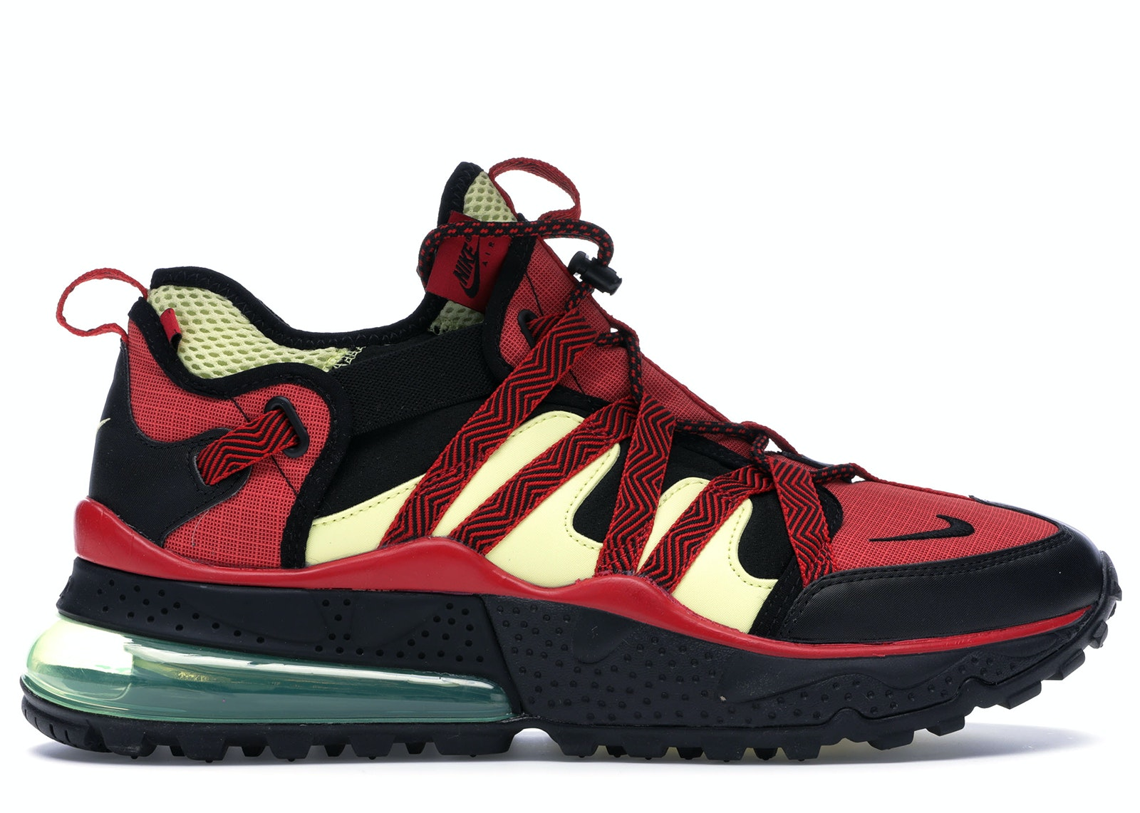 Air Max 270 Bowfin University Red Light Citron