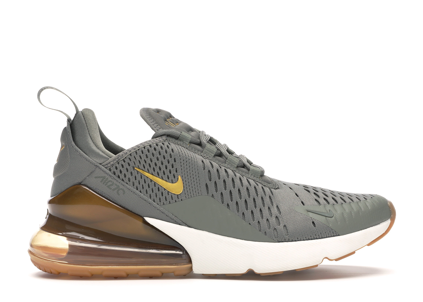 Nike Air Max 270 Dark Stucco Metallic Gold (W)