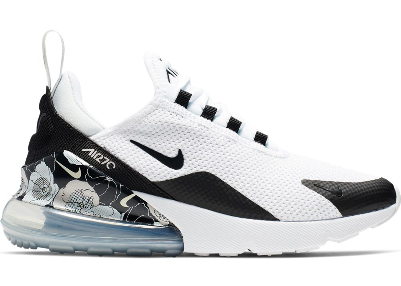 best service 566b0 2937c Air Max 270 Floral White Black (W)