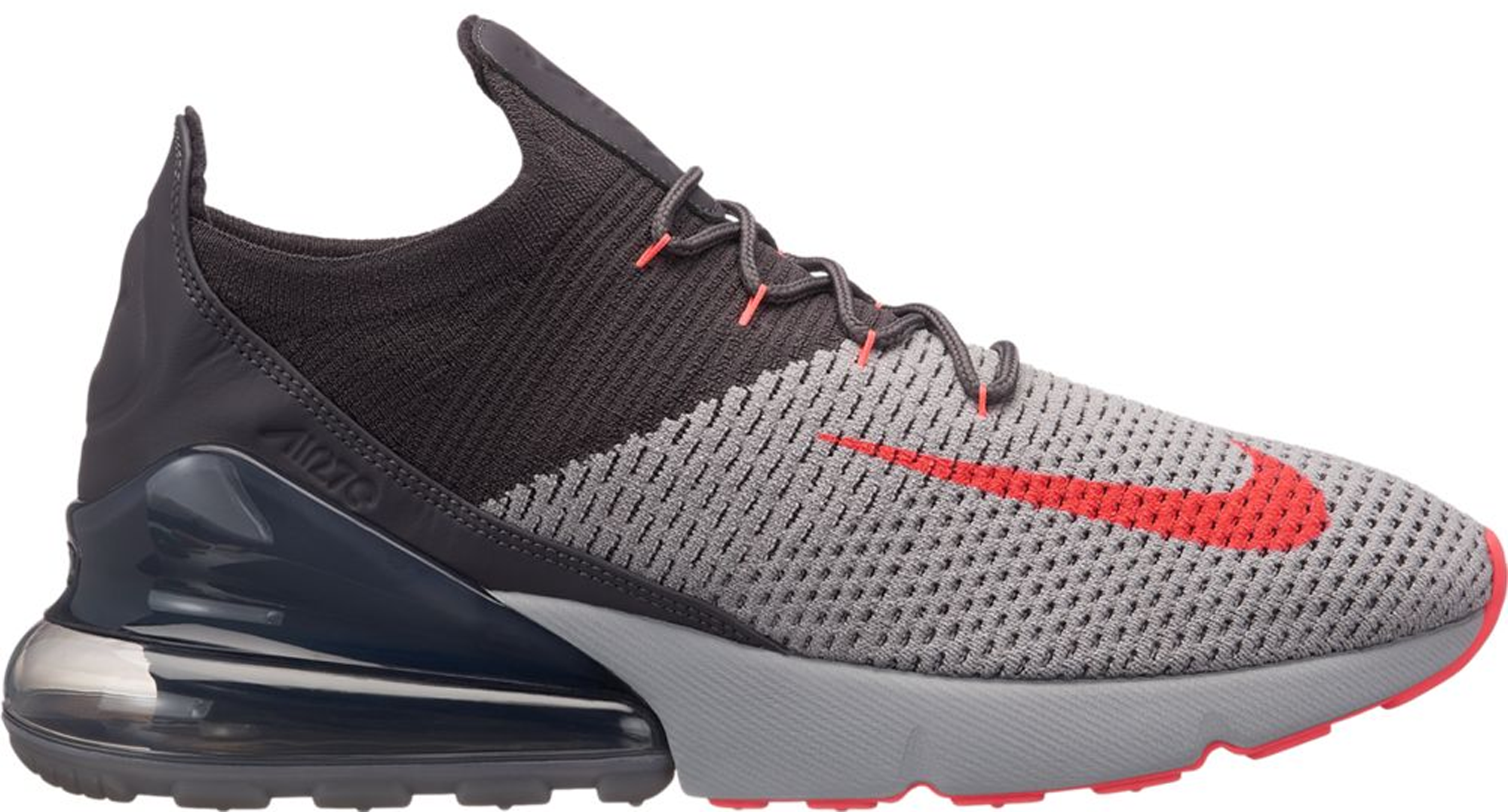 Air Max 270 Flyknit Atmosphere Grey Thunder Grey