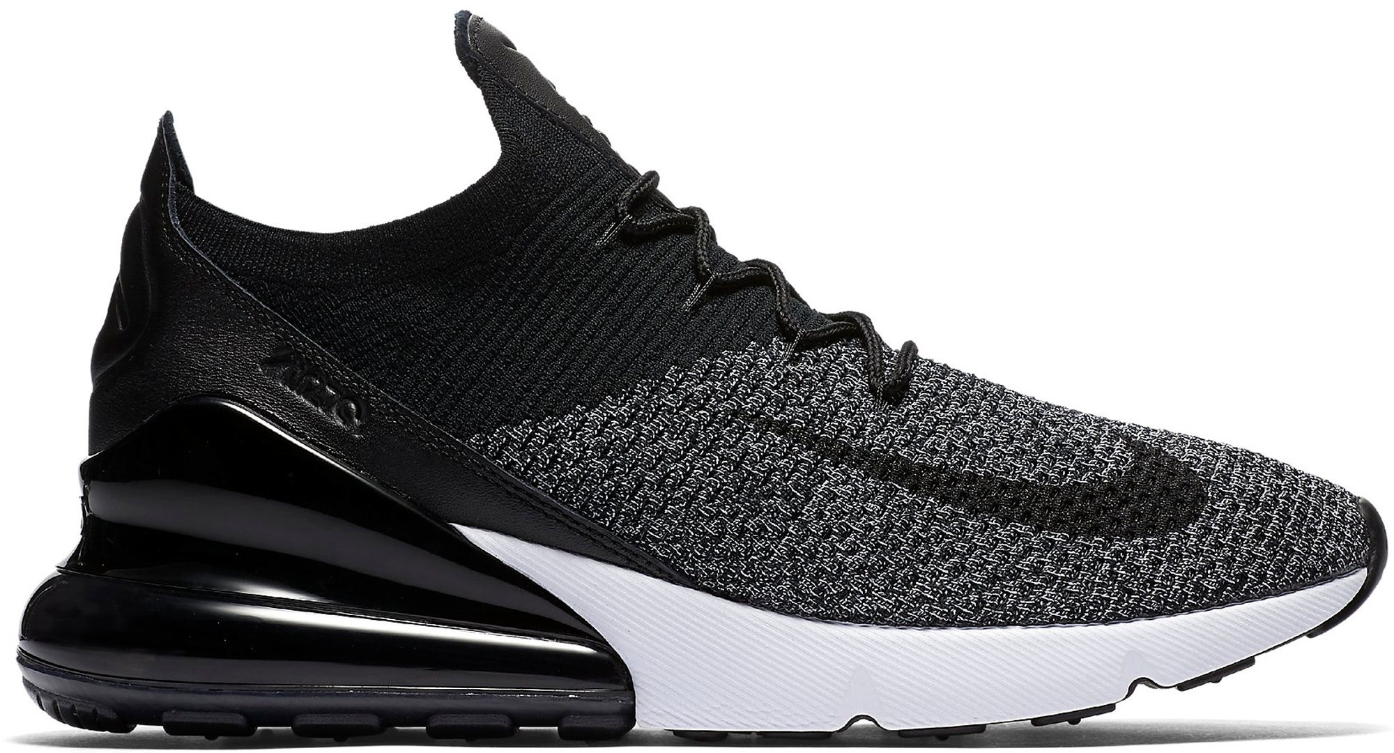 Air Max 270 Flyknit Black White