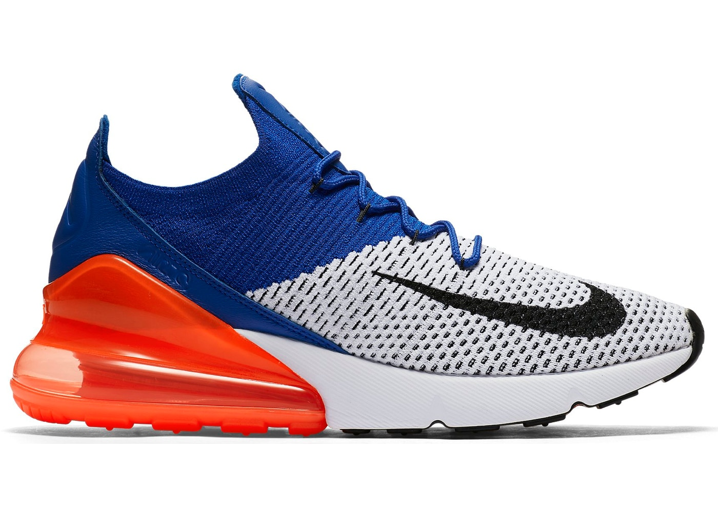 Air Max 270 Flyknit Racer Blue Total Crimson - AO1023-101