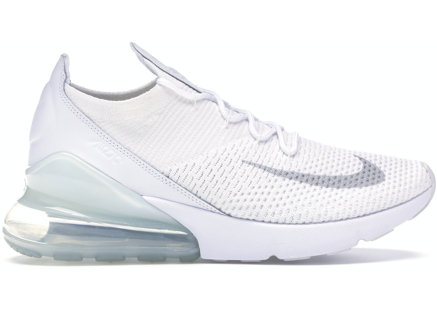 pretty nice 3ca4e ee875 Air Max 270 Flyknit Triple White