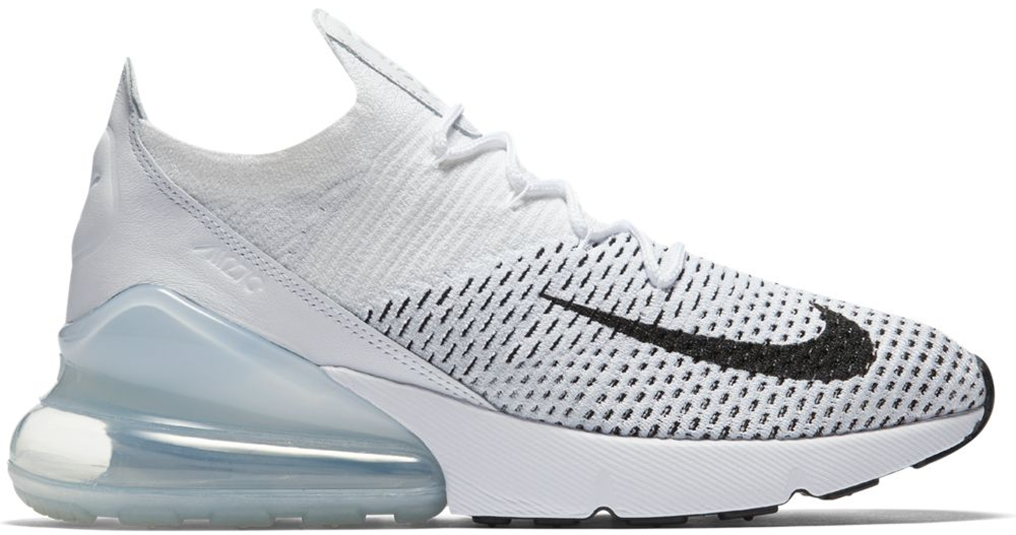 Nike Air Max 270 Flyknit shoes black